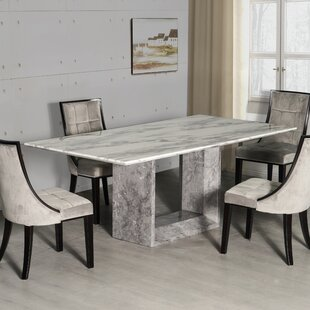 Culley Marble Dining Table by Orren Ellis
