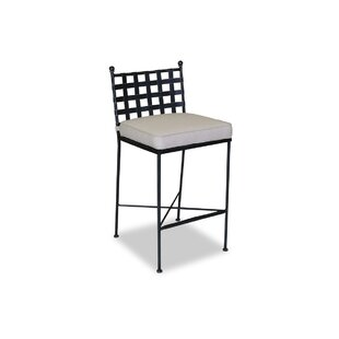 Provence Patio Bar Stool with Cushion by Sunset West