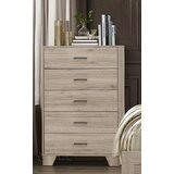 Hillsg 5 Drawer Chest by Wrought Studio™