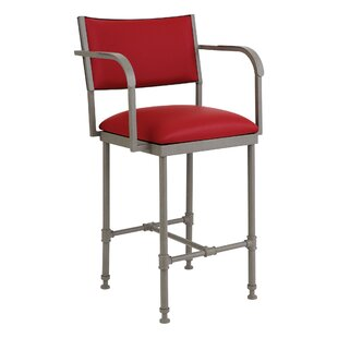 Emrich 26 Bar Stool by 17 Stories