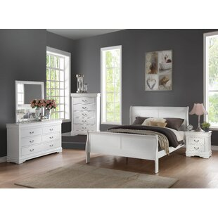 Elim Sleigh Configurable Bedroom Set by Darby Home Co