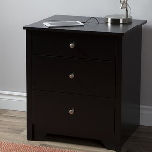 South Shore Vito 2 Drawer Nightstand