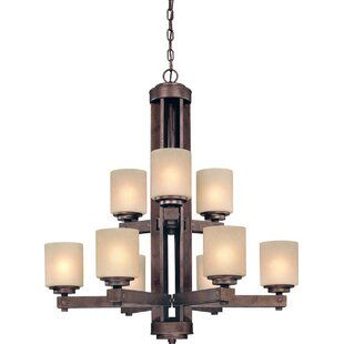 Dolan Designs Sherwood 9-Light Shaded Chandelier