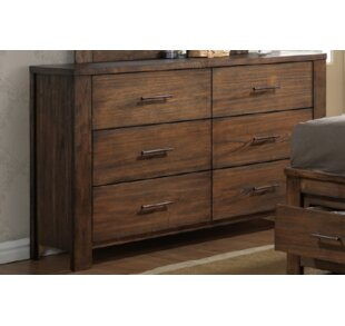 Union Rustic Veronica 6 Drawer Dresser