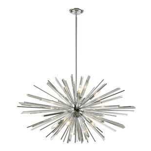 Everly Quinn Kolb 10-Light Chandelier