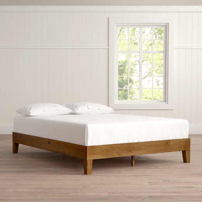 Alwyn Home Wood Platform Bed & Reviews | Wayfair