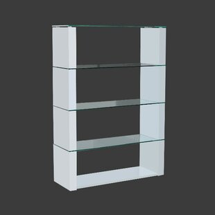 Precious Lacquered Standing Divider Standard Bookcase