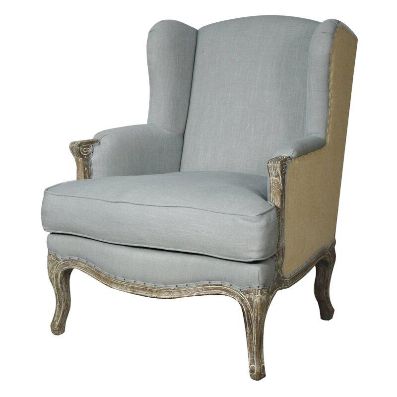 Greyleigh Rotan Wingback Chair