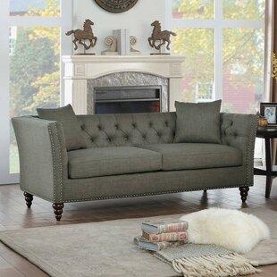 Londonderry Nail Head Trim Sofa by House of Hampton