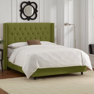 Allbright Upholstered Panel Bed by Willa Arlo Interiors
