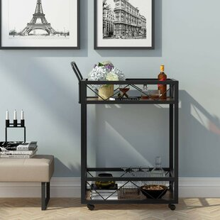 Simonsen Bar Cart by August Grove