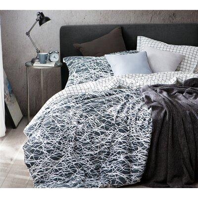 Trent Austin Design Calanthe 100% Cotton Reversible Bedding Set Size: Queen, Product Type: Duvet Set