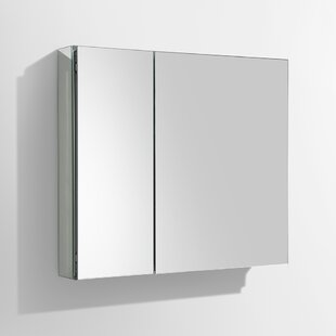 Reviews 29.63 x 26.13 Surface Mount or Recessed Medicine Cabinet By Fresca