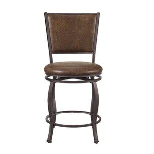 Stuck 24.5 Swivel Bar Stool by Williston Forge