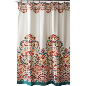 Orange Shower Curtains You\'ll Love | Wayfair
