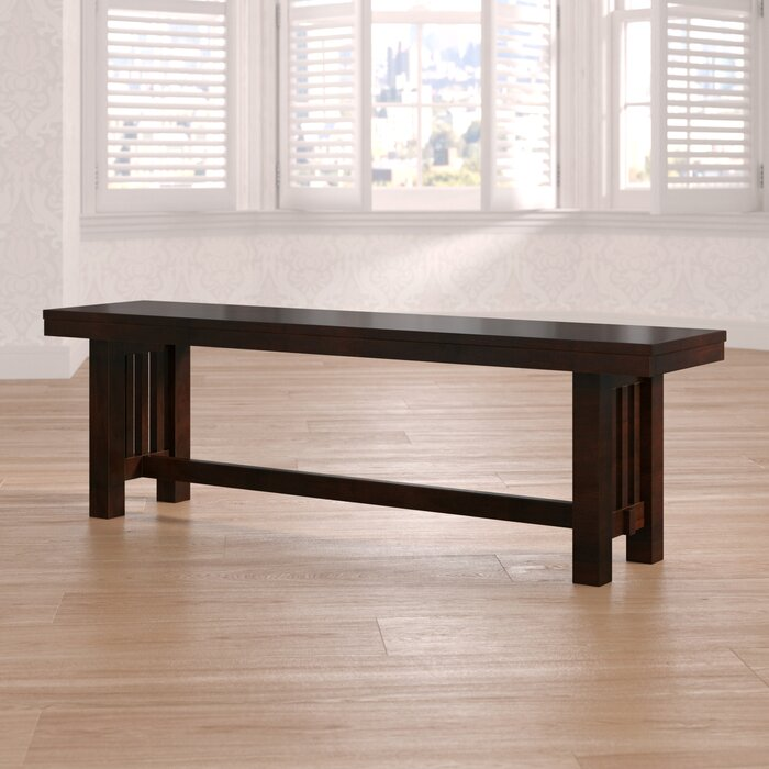 Surprising Gisla Wood Bench Gmtry Best Dining Table And Chair Ideas Images Gmtryco