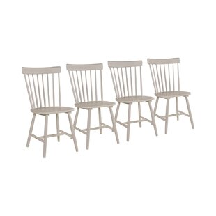 Noelle Solid Wood Dining Chair (Set Of 4) By Brambly Cottage