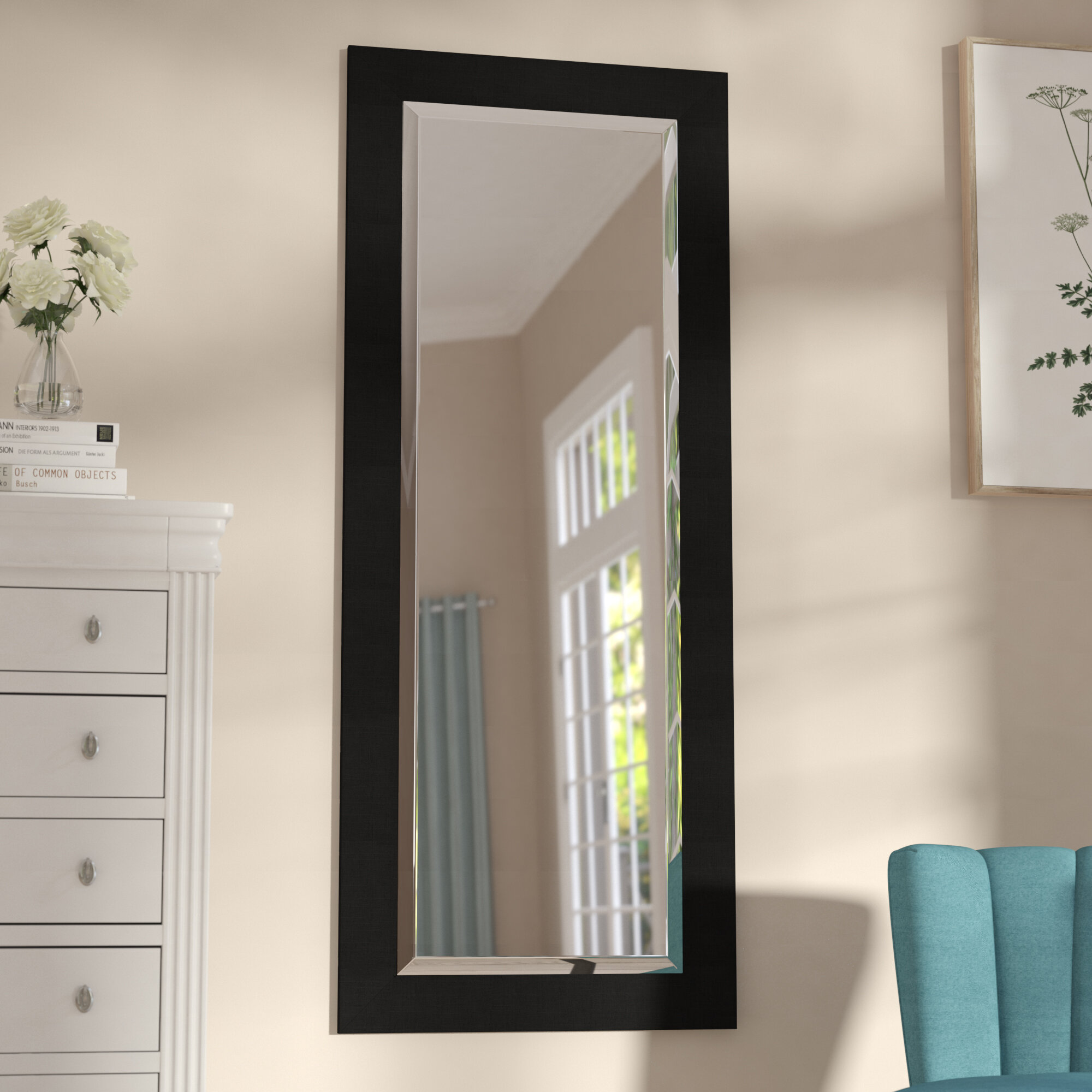 Darby Home Co Satin Full Length Mirror & Reviews | Wayfair