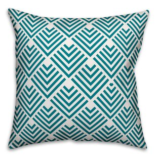 Fiorini Geometric Arrow Outdoor Throw Pillow