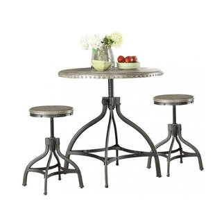 Mckibben 3 Piece Counter Height Breakfast Nook Dining Set