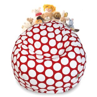 Stuffed Animal Toy Storage Bean Bag Chair By Harriet Bee