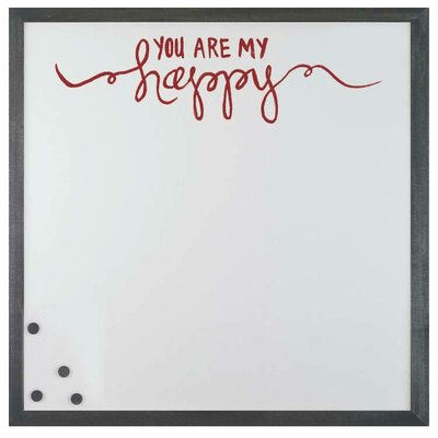 watercolor my happy magnetic board