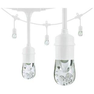 Enlighten ® by Jasco Classic Café LED 6 Light Globe String Lights