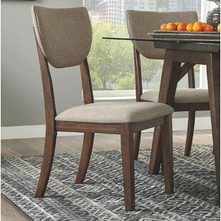 Melton Upholstered Dining Chair (Set Of 2) by Williston Forge Today Only Sale