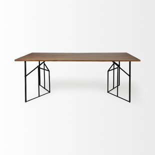 Brodhead Corrigan Solid Wood Dining Table