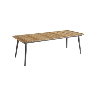 Gracie Oaks Asphodèle Teak Dining Table