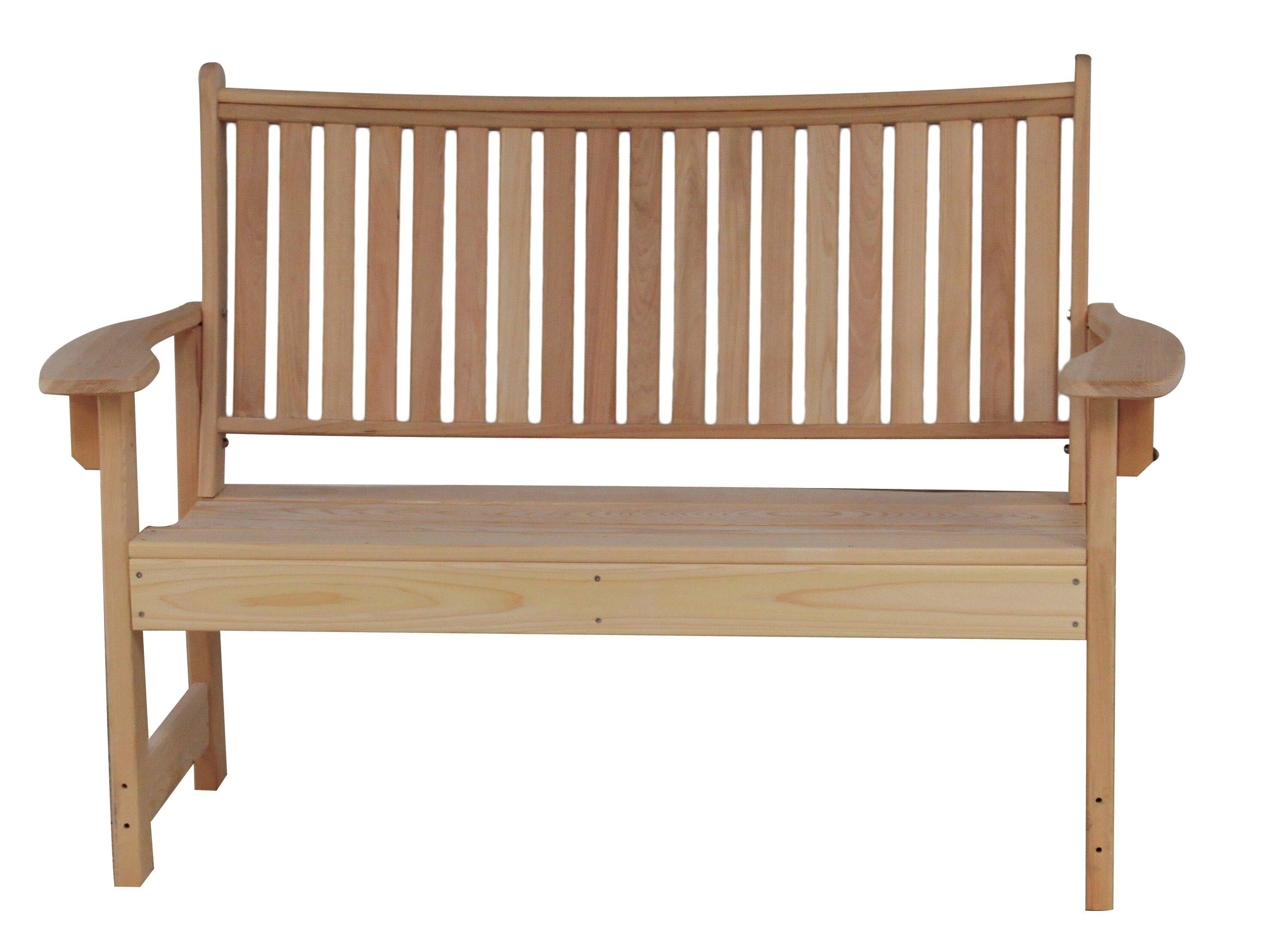 Hershy Way Royal Cypress Garden Bench | Wayfair