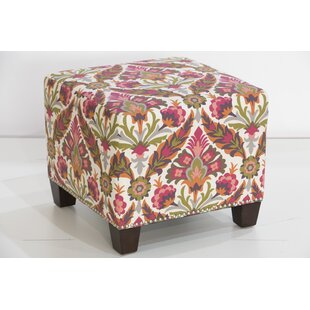Ohare Cube Ottoman by Bloomsbury Market