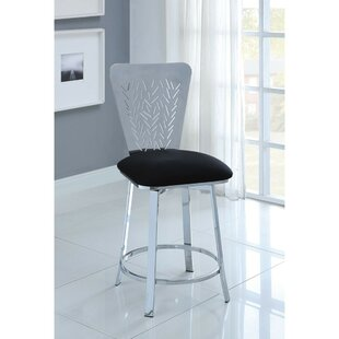 Sickler Counter Height Upholstered Dining Chair (Set of 2)