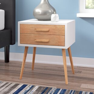 Ellis 2 Drawer Nightstand