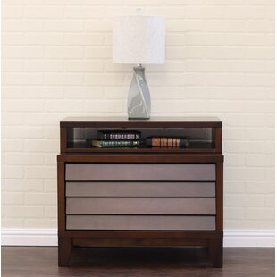 Home Image Island 2 Drawer Nightstand