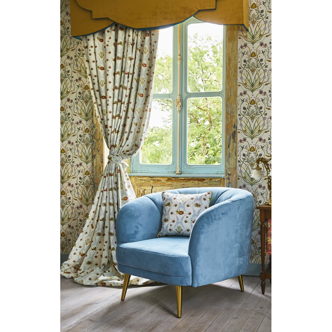 Watering Can Harvest Eyelet Blackout Thermal Curtains