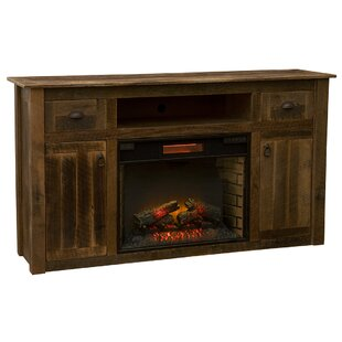 TV Stand for TVs up to 65 with Fireplace by Fireside Lodge