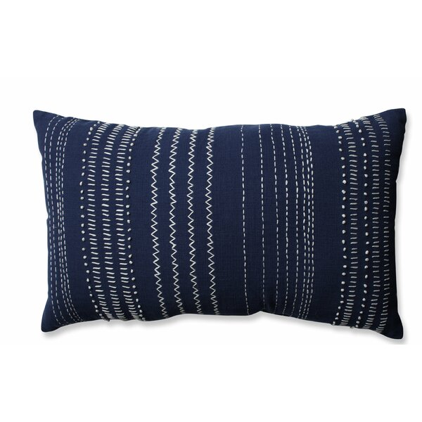 Pillow Perfect Tribal Stitches 100 Cotton Lumbar Pillow
