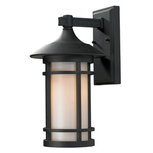 Woodland 1-Light Outdoor Wall Lantern