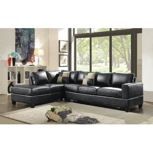 Winston Porter Bruns Reversible Sectional