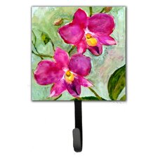 Orchid Flower Wall Hook by Caroline's Treasures