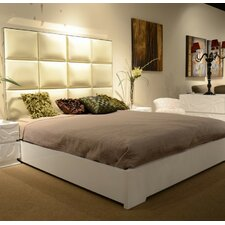 Belafonte King Upholstered Platform Bed by Wade Logan
