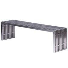 Eldert Metal Entryway Bench by LeisureMod