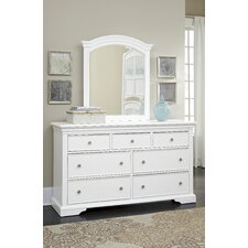Tracy 7 Drawer Double Dresser by Viv + Rae