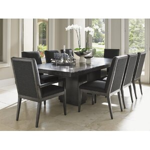 Piece Trestle Kitchen  Dining Room Sets Youll Love Wayfair - 9 piece dining room sets