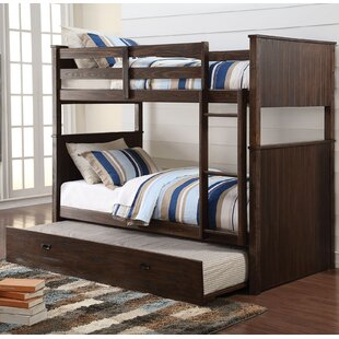 Lawerence Twin over Twin Bunk Bed with Trundle by Harriet Bee