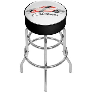 Dodge Challenger 31 Swivel Bar Stool by Trademark Global Find