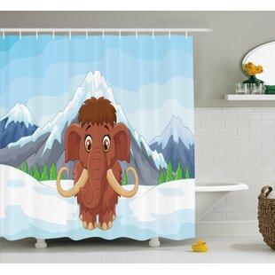 Malcolm Single Shower Curtain