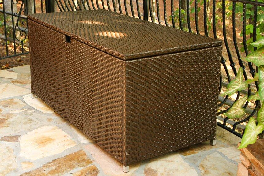 Darby Home Co Fleischmann Resin Deck Box