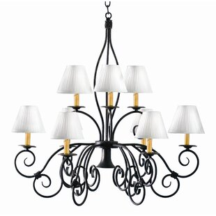 2nd Ave Design Grace 10-Light Shaded Chandelier